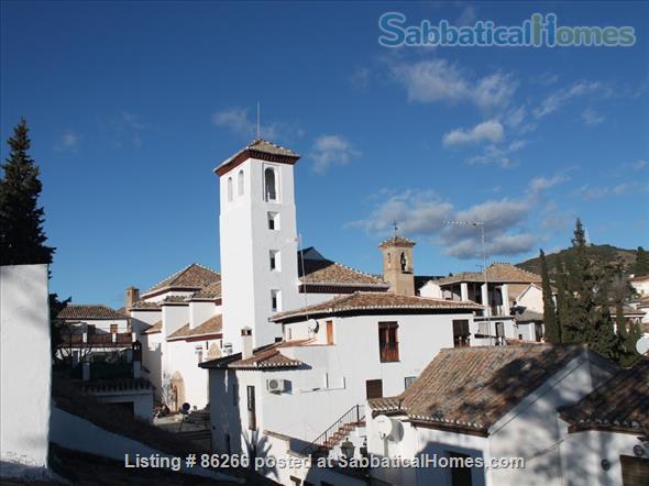 ALBAICIN HOUSE WITH PARKING. WIFI. BEAUTIFUL VIEWS ALHAMBRA Home Rental in Granada, AN, Spain 9